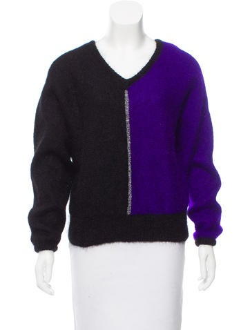 Christian Dior Mohair-Blend Sweater None