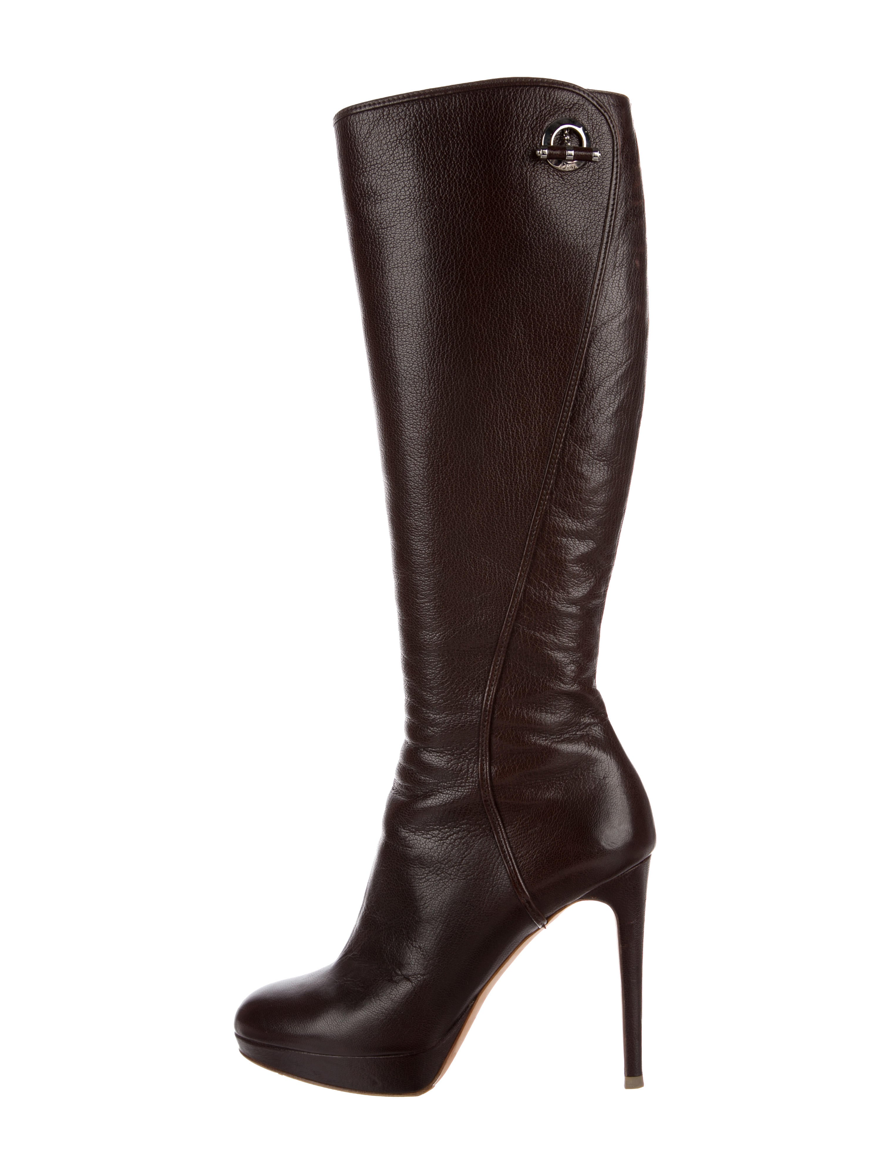 discount wholesale Christian Dior Knee-High Platform Boots cheap online with paypal for sale discount affordable clearance many kinds of KpRMM3mjB