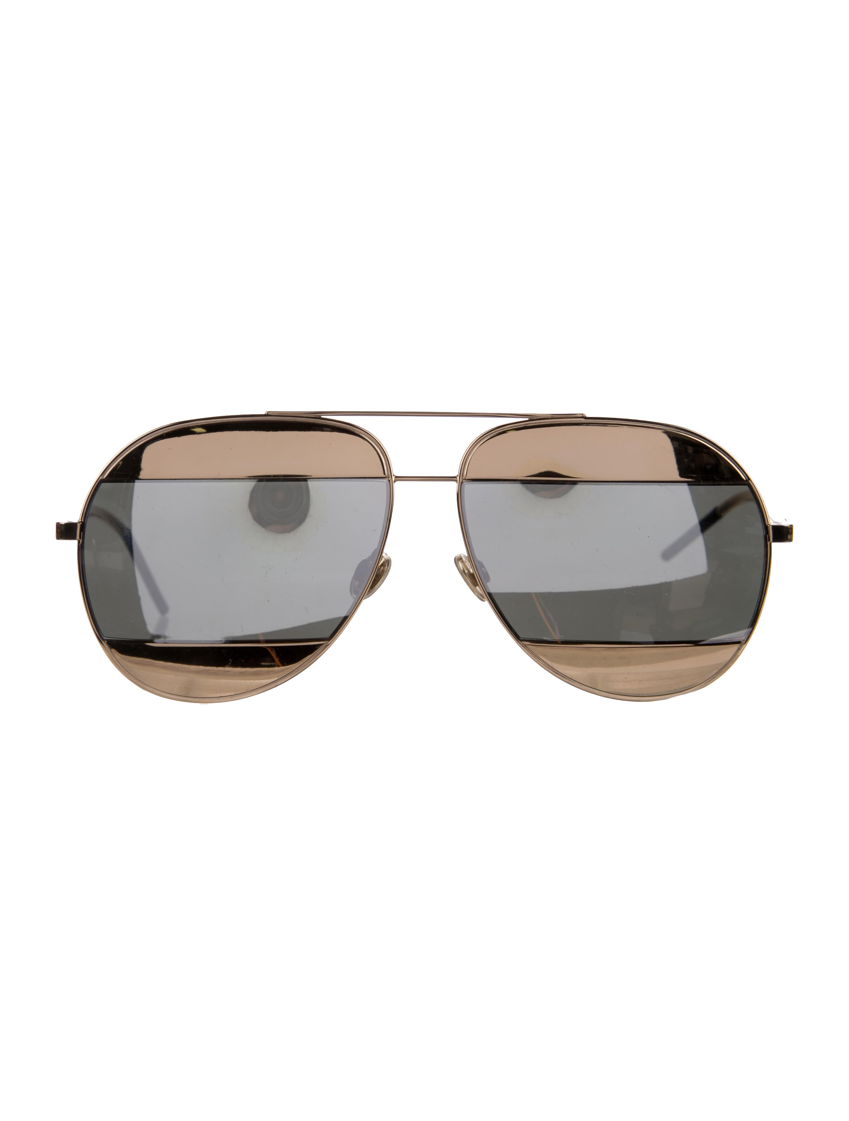 d104fcde55b0 Christian Dior Split 1 Mirrored Sunglasses - Accessories - CHR65419 ...