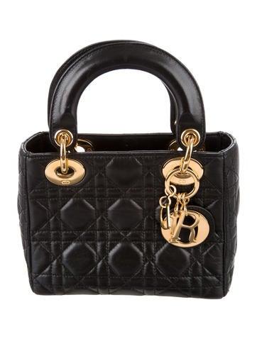 Christian Dior Mini Lady Dior Bag None