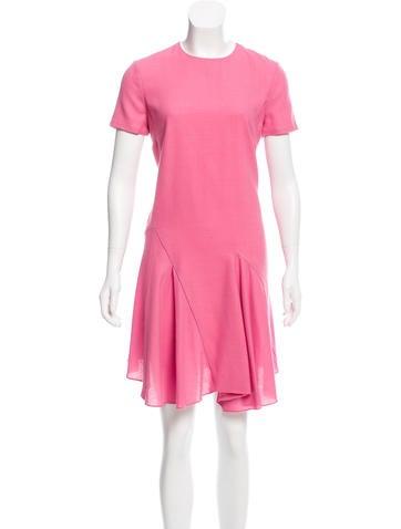 Christian Dior Flared Wool Dress None