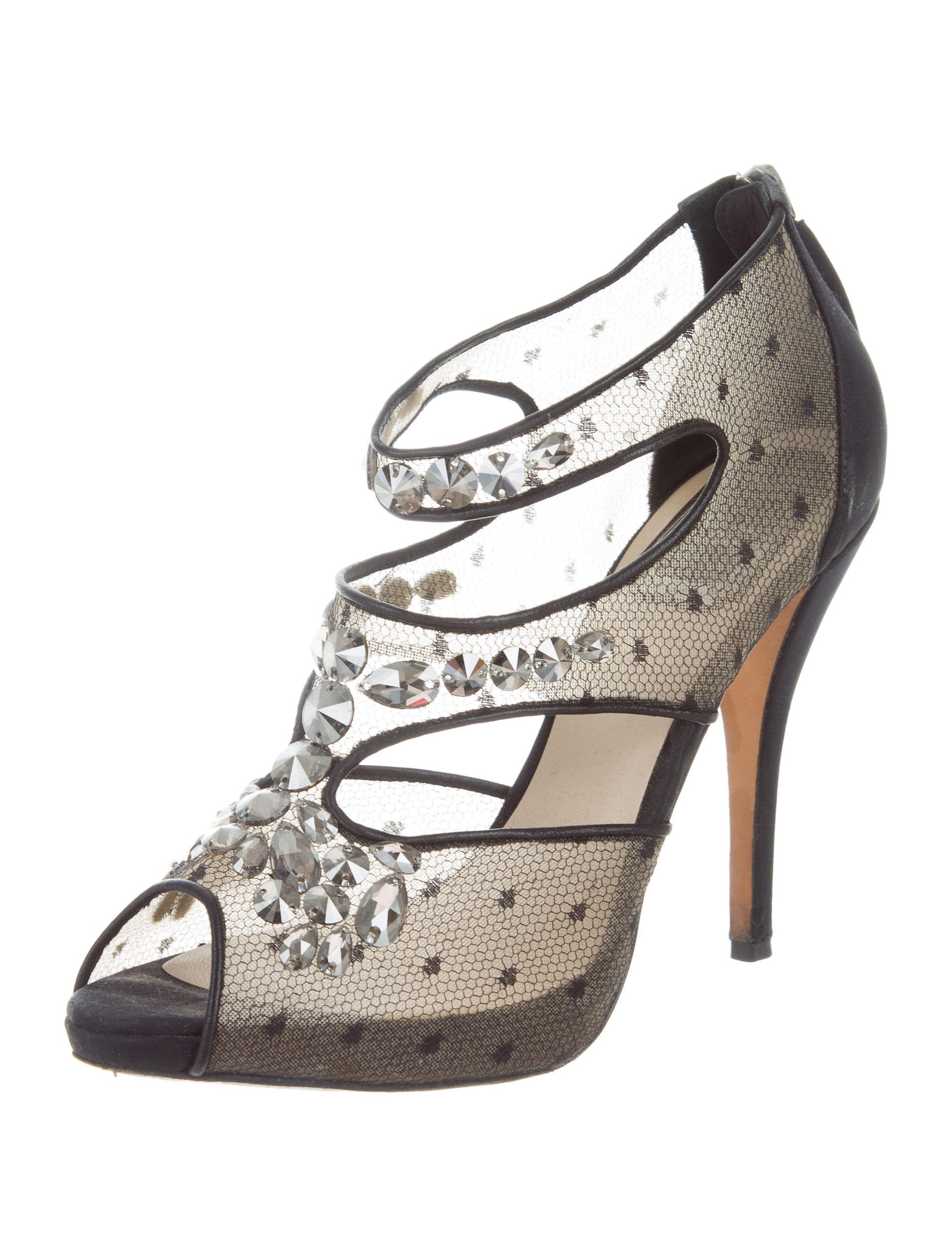 cheap Christian Dior Mesh Jewel-Embellished Pumps low shipping online cheap order discount find great free shipping marketable Gm867m1a