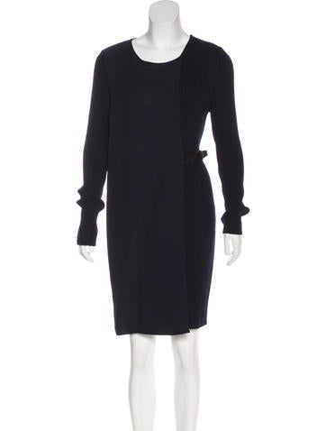 Christian Dior Wool Knee-Length Dress w/ Tags None