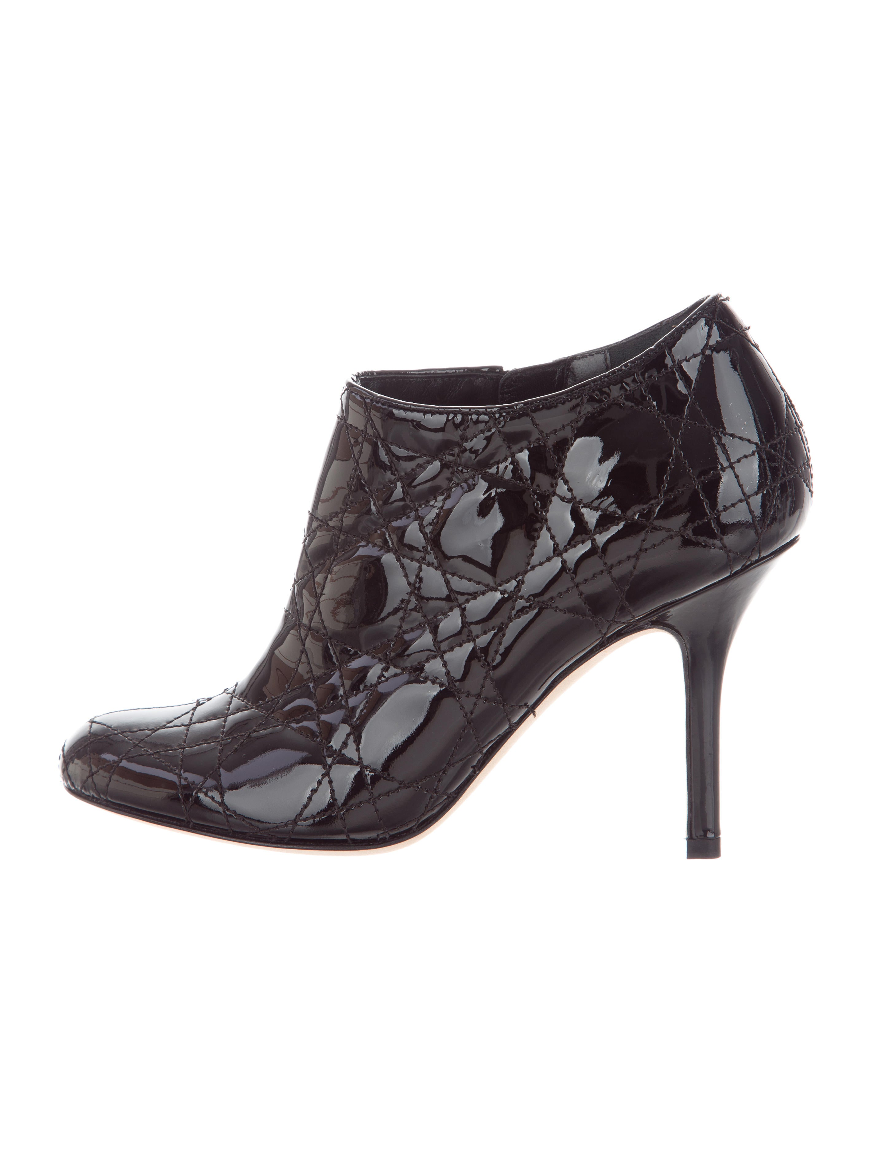 Christian Dior Cannage Patent Leather Boots cheap price discount in China cheapest price sale official cheap sale 100% authentic xGmIWA