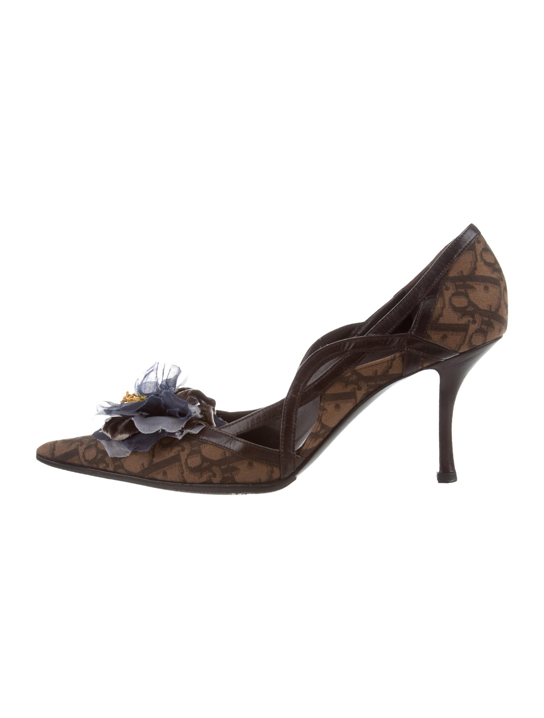 Christian Dior Embellished Diorissimo Pumps for sale very cheap clearance many kinds of best sale online GYy6UB