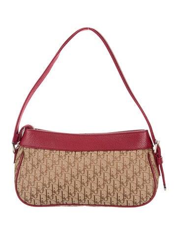 Christian Dior Diorissimo Jacquard Shoulder Bag - Handbags - CHR67306  938d2b9245361