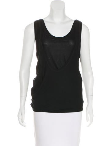 Christian Dior Layered Sleeveless Top None