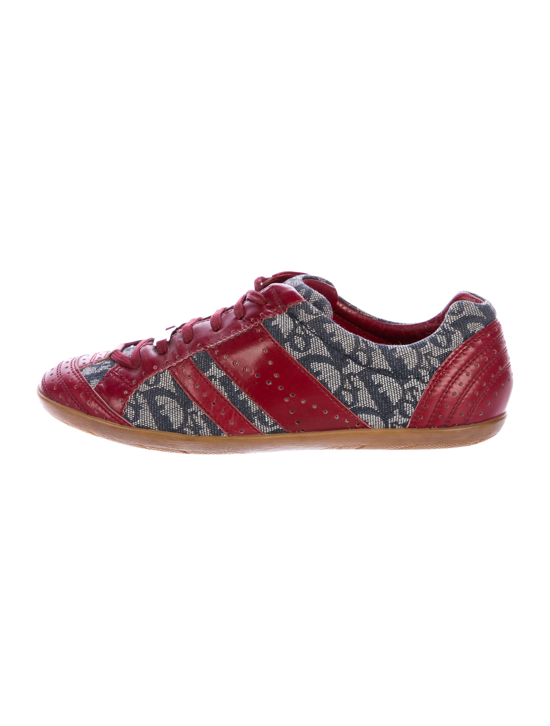 Christian Dior Canvas Diorissimo Sneakers clearance low shipping 2SEhM