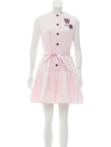 Christian Dior 2017 Sleeveless Mini Dress None