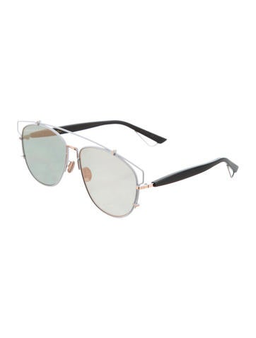 2f5ee85820bb Christian Dior Technologic Mirrored Sunglasses w  Tags - Accessories ...