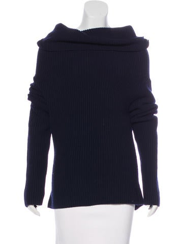 Christian Dior Wool & Cashmere-Blend Sweater None