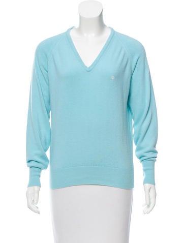 Christian Dior Mohair-Blend Sweater None