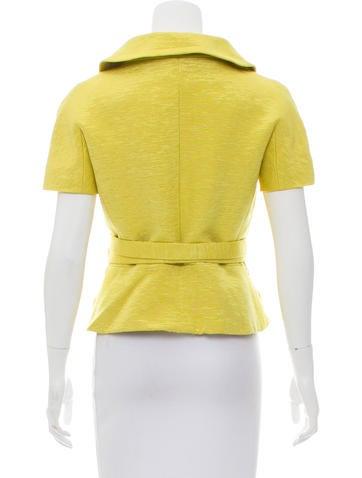 Textured Belted Jacket