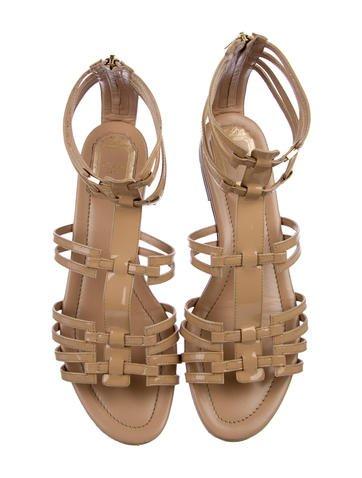 Patent Gladiator Sandals