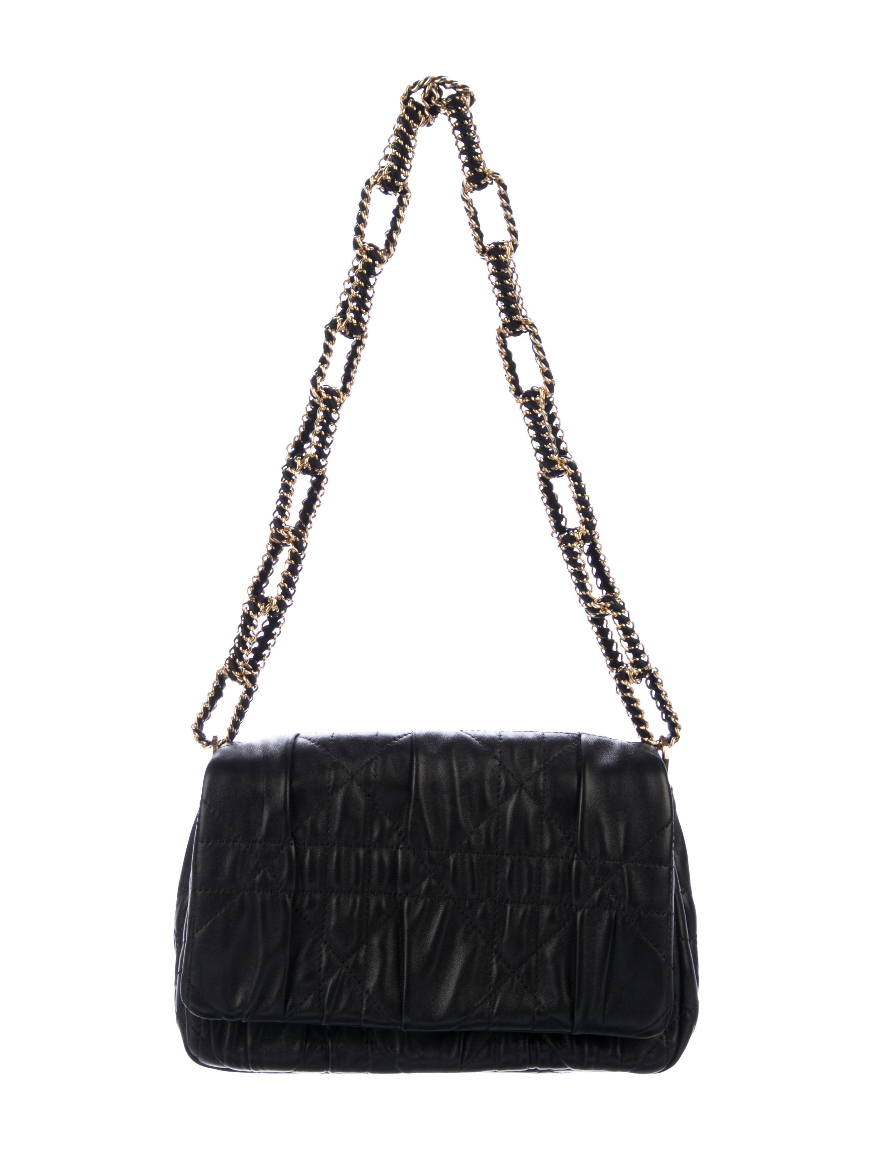 da04a2978ec7 Christian Dior Cannage Small Delidior Flap Bag - Handbags - CHR69481 ...