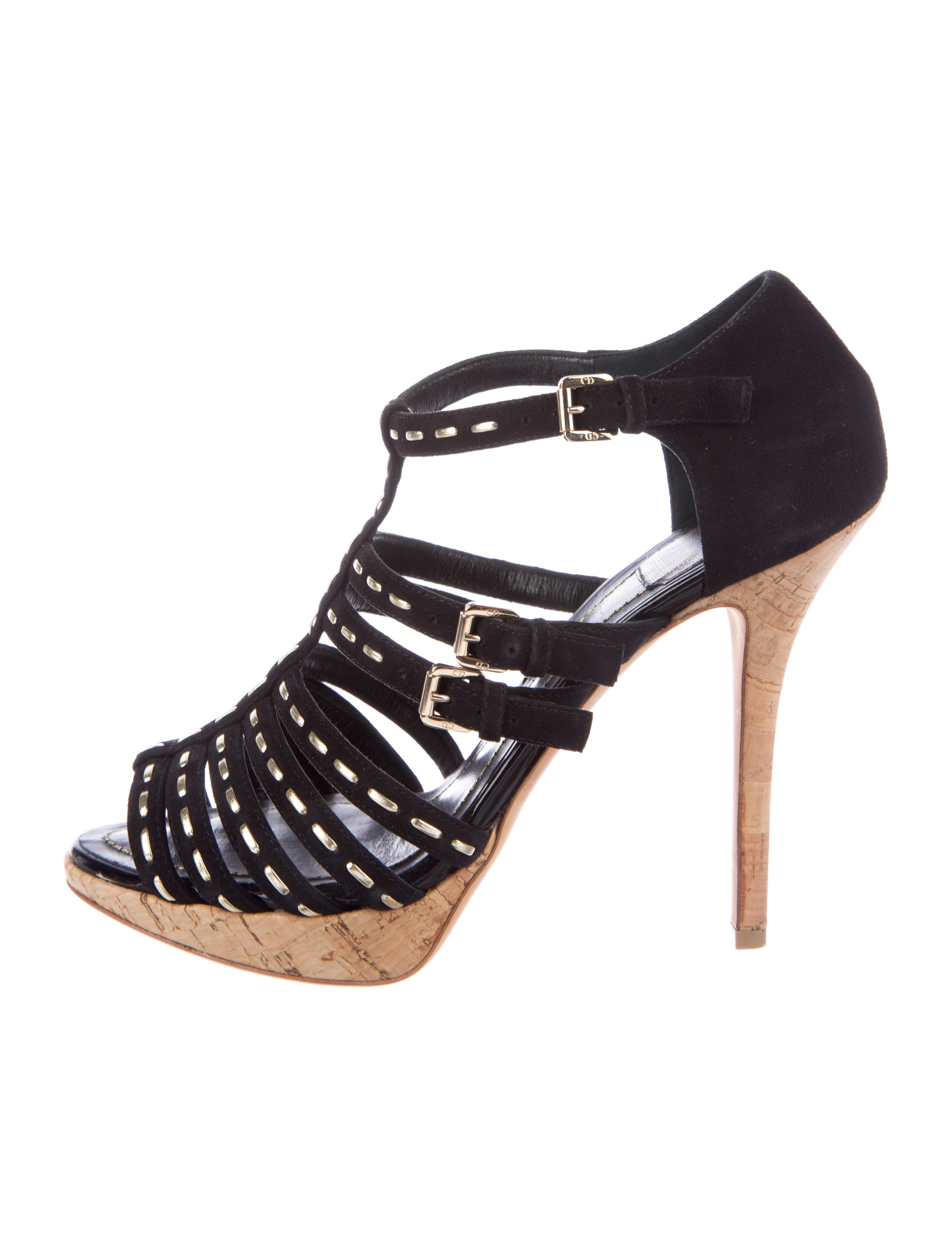 sale online cheap Christian Dior Suede Multistrap Sandals many kinds of sale online enjoy for sale clearance new free shipping cheap quality NIlhlS