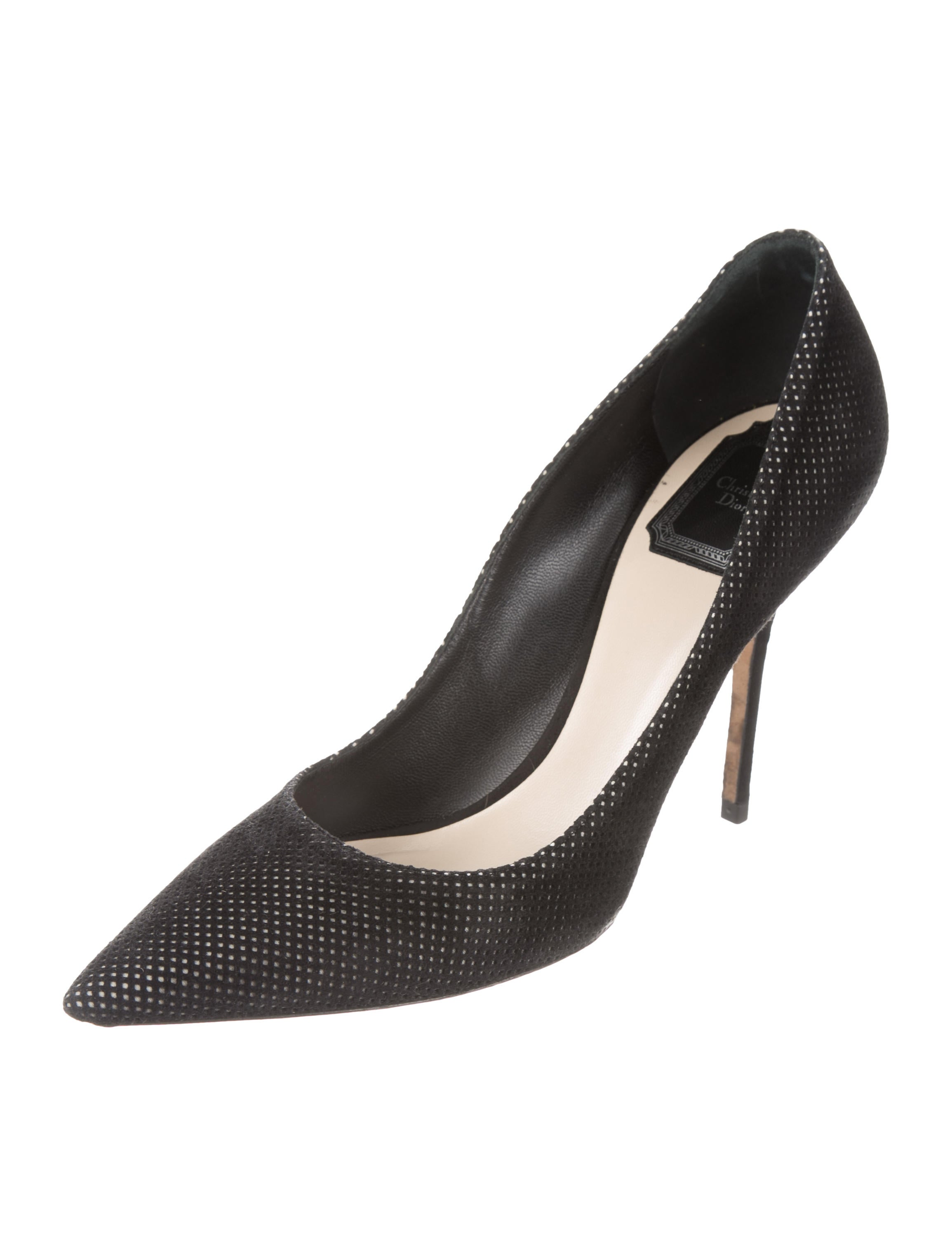 Christian Dior Cherie Perforated Pumps discount cost explore for sale cost online 12Y2oDj
