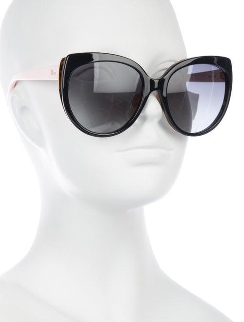 abafcb5519 Christian Dior Diorific 1N Oversize Sunglasses - Accessories ...