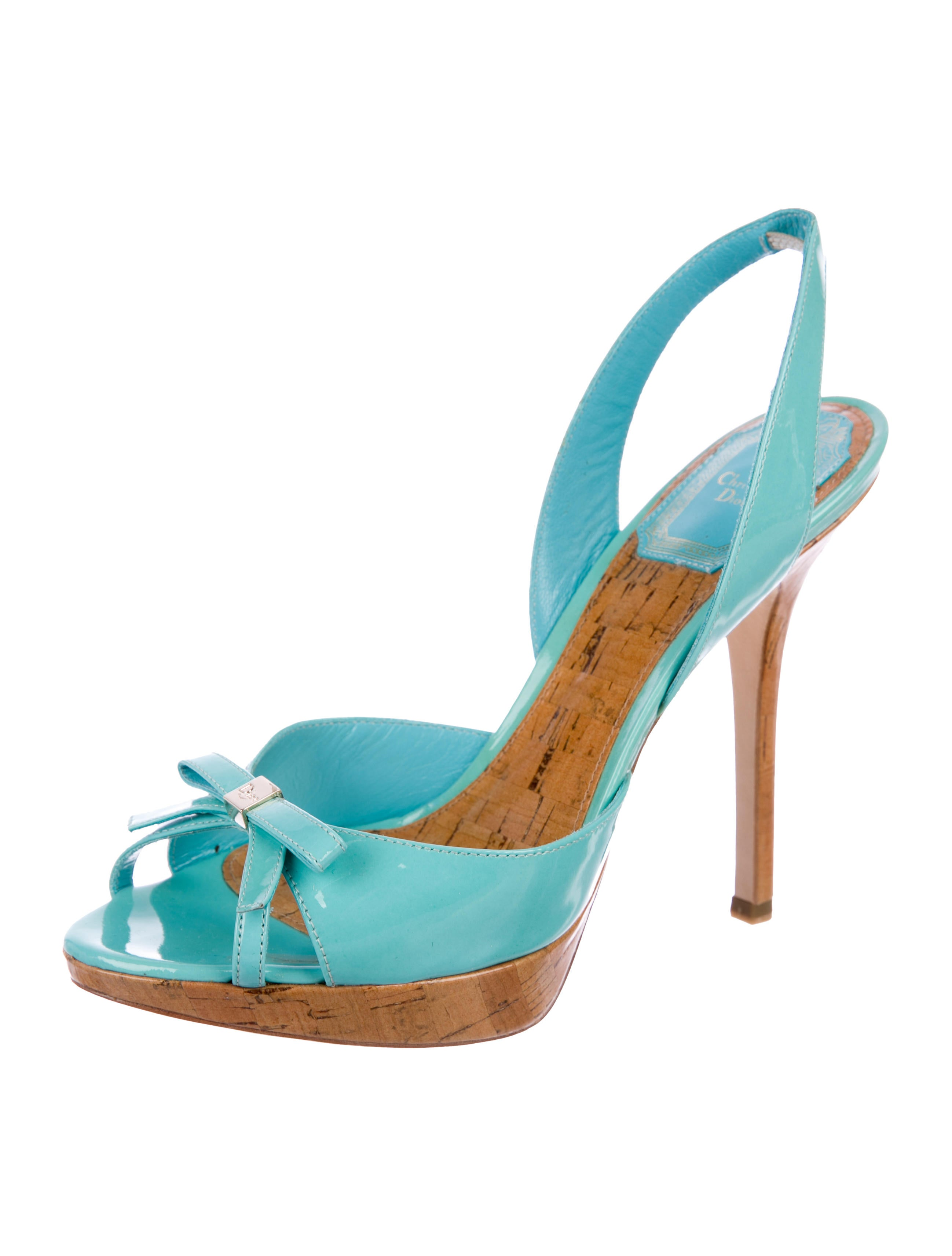 Christian Dior Starlet Slingback Sandals quality original visit new cheap price clearance how much buy cheap cheapest price 0pKXZg