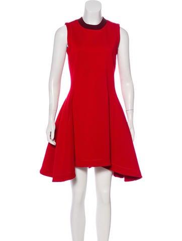 Christian Dior Wool Knee-Length Dress None