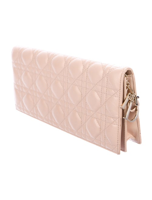 b600f68f0e Christian Dior Cannage Lady Dior Convertible Clutch - Handbags ...