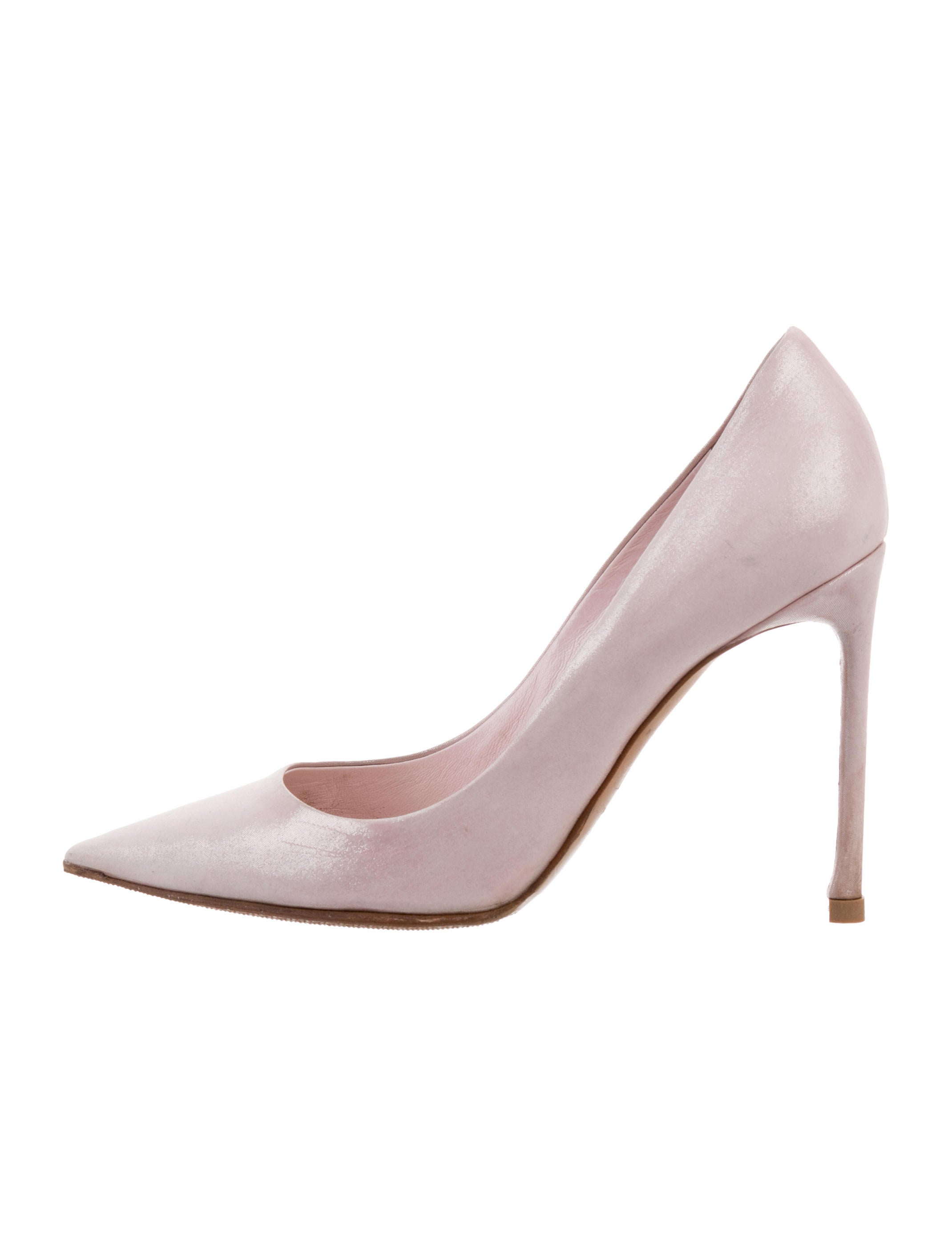 Christian Dior Pointed-Toe Glitter Pumps perfect for sale GfLrs