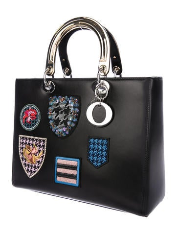 Large Badges Lady Dior