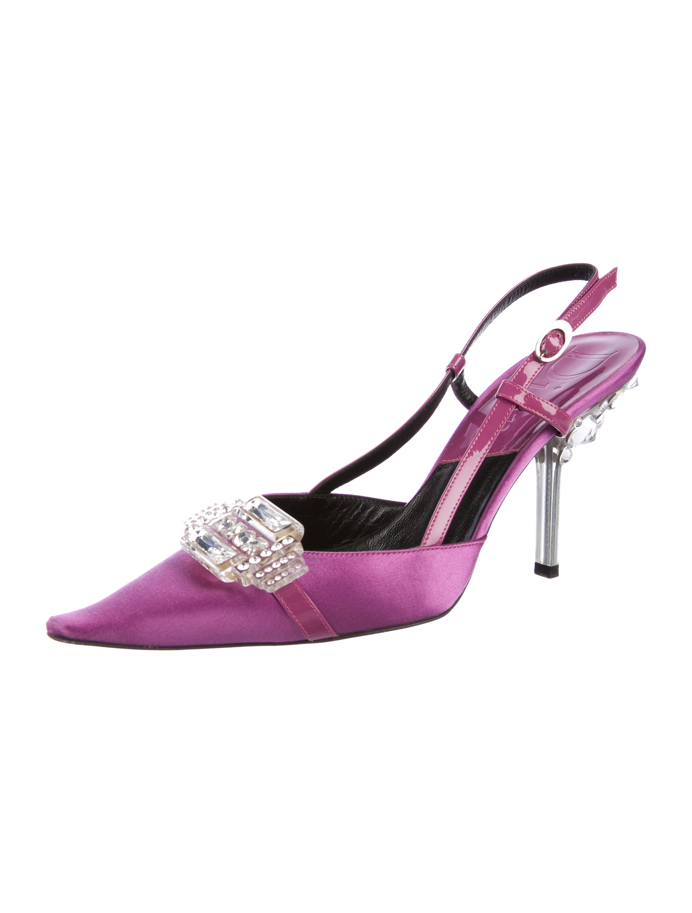 Christian Dior Satin Embellished Pumps geniue stockist outlet wholesale price free shipping limited edition for sale very cheap new styles cheap online DoAhyQT