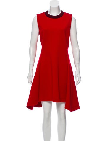 Christian Dior Sleeveless Wool Dress None