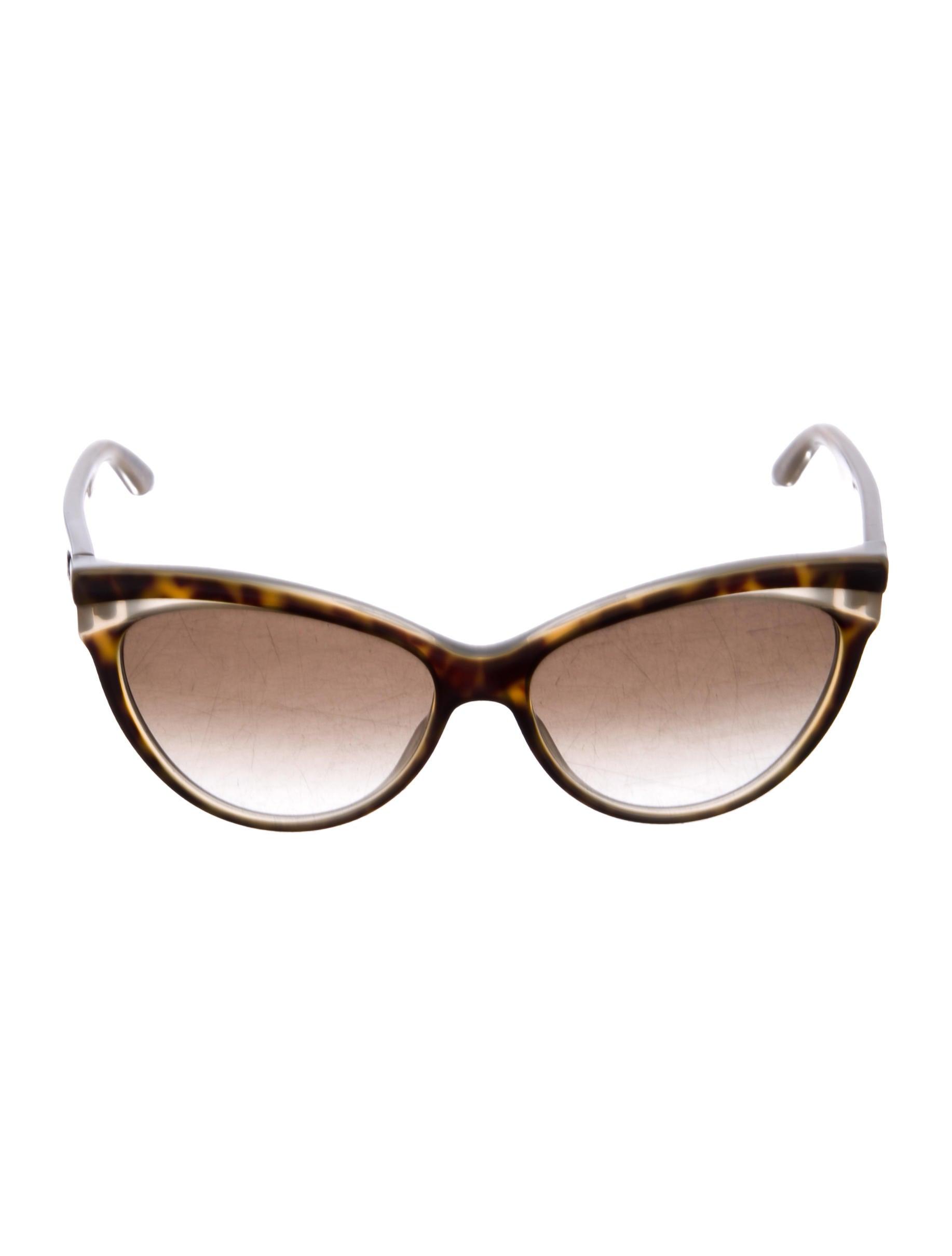 8a03654aa5e Christian Dior Logo Gradient Cat-Eye Sunglasses - Accessories ...