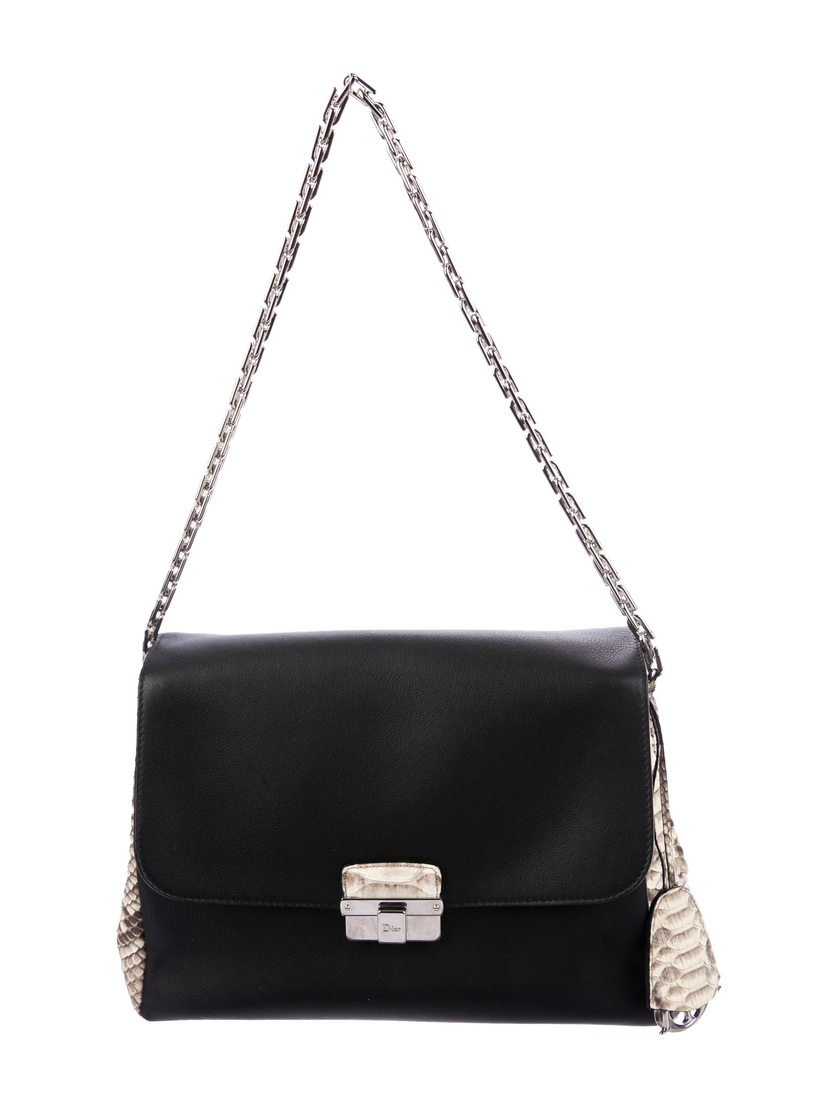 5ab397c8d2 Trimmed Bag Christian Dior Python Diorling 6qgwWEI8-straits ...