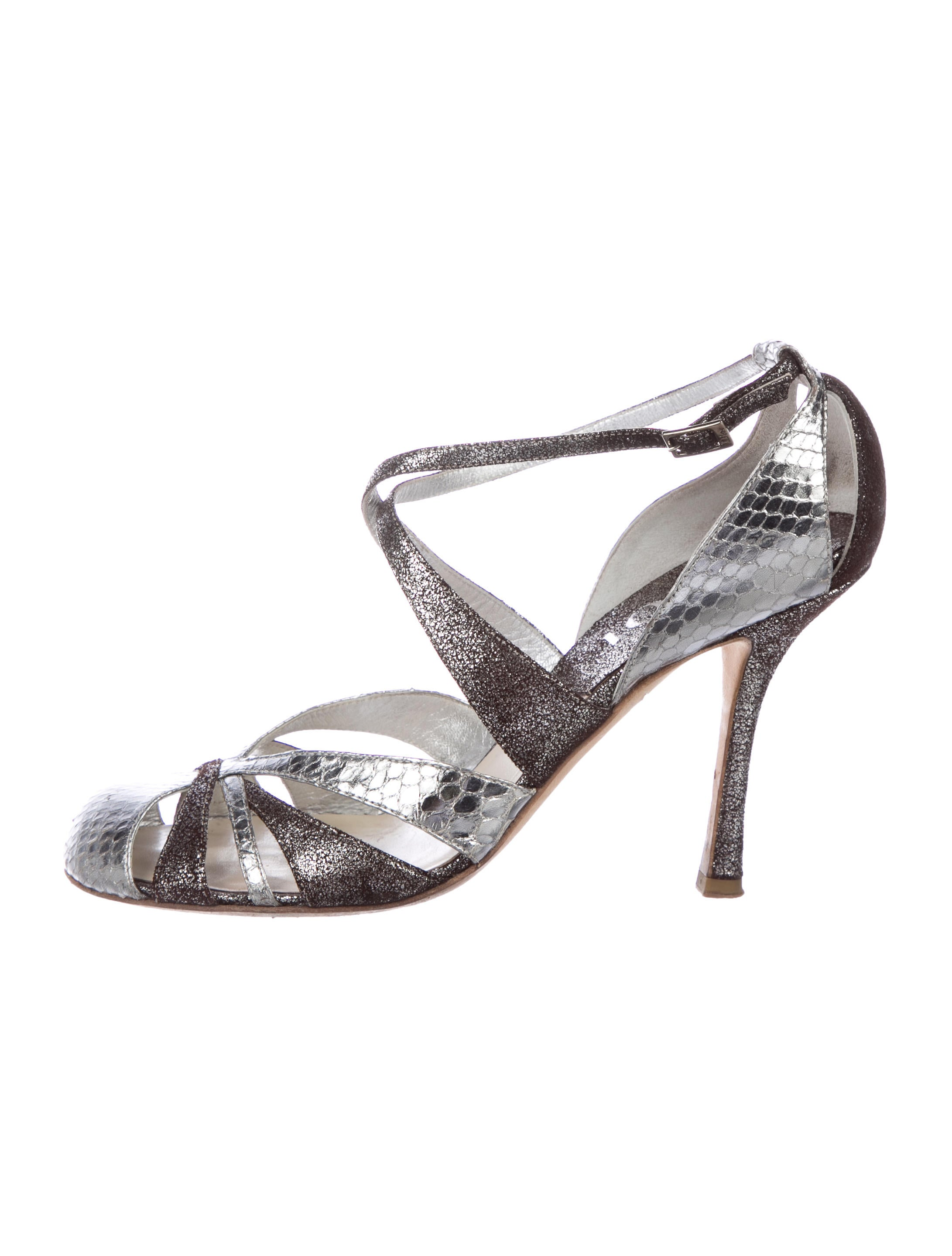 cheap price wholesale Christian Dior Glamnight Snakeskin Pumps cheap price free shipping explore cheap online professional online ithZv