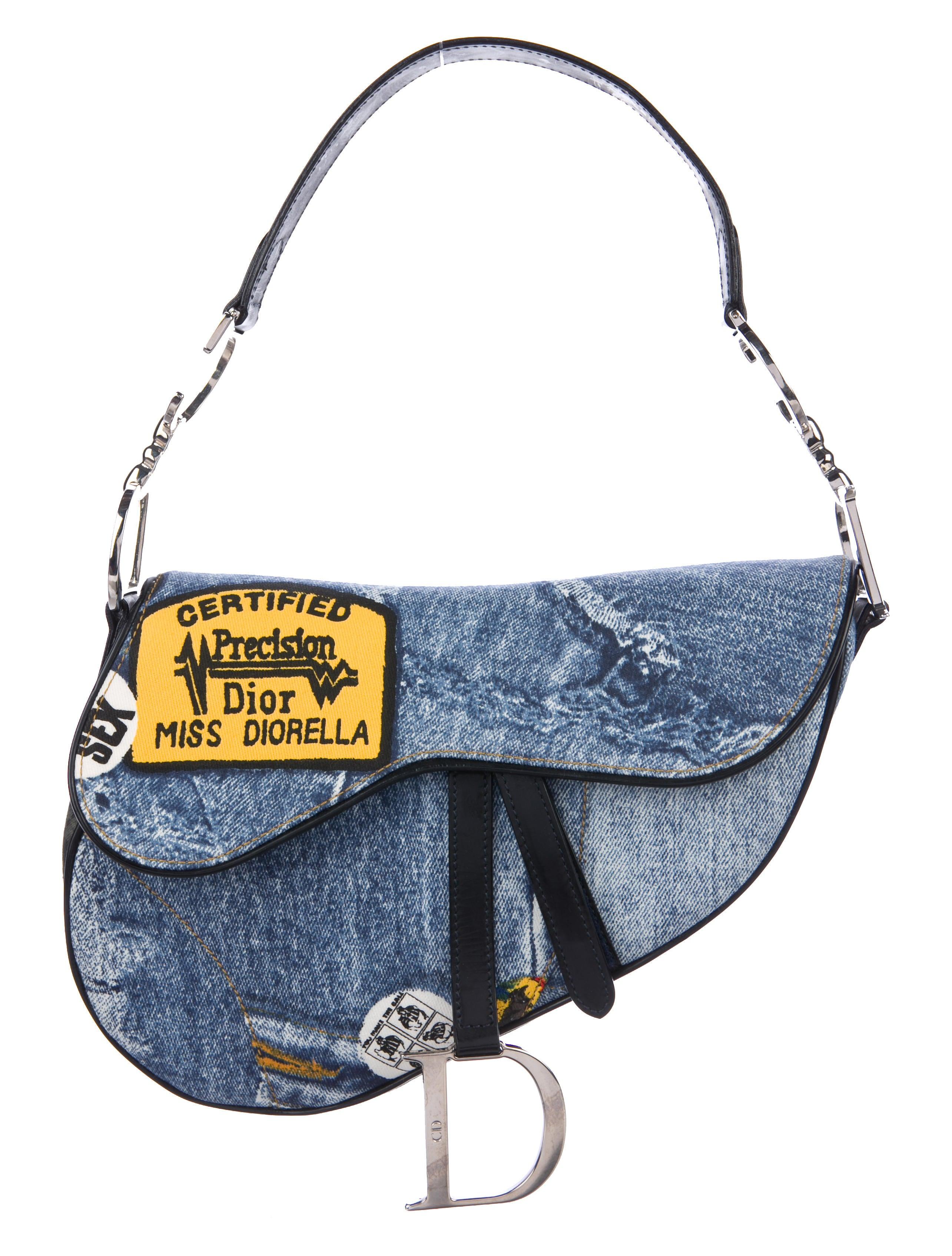 Christian Dior Miss Diorella Saddle Bag - Handbags - CHR77169  97531c611dfd9