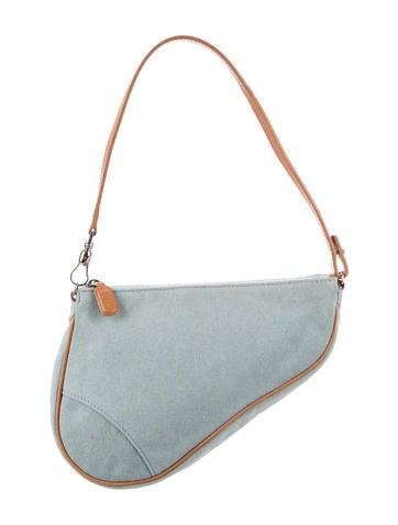 Christian Dior. Denim Saddle Bag 53e70885e9776