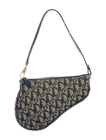 Christian Dior. Diorissimo Mini Saddle Bag 11a052e0edaed