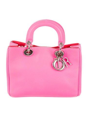 Christian Dior. Mini Diorissimo Satchel 84b54e0b680c1