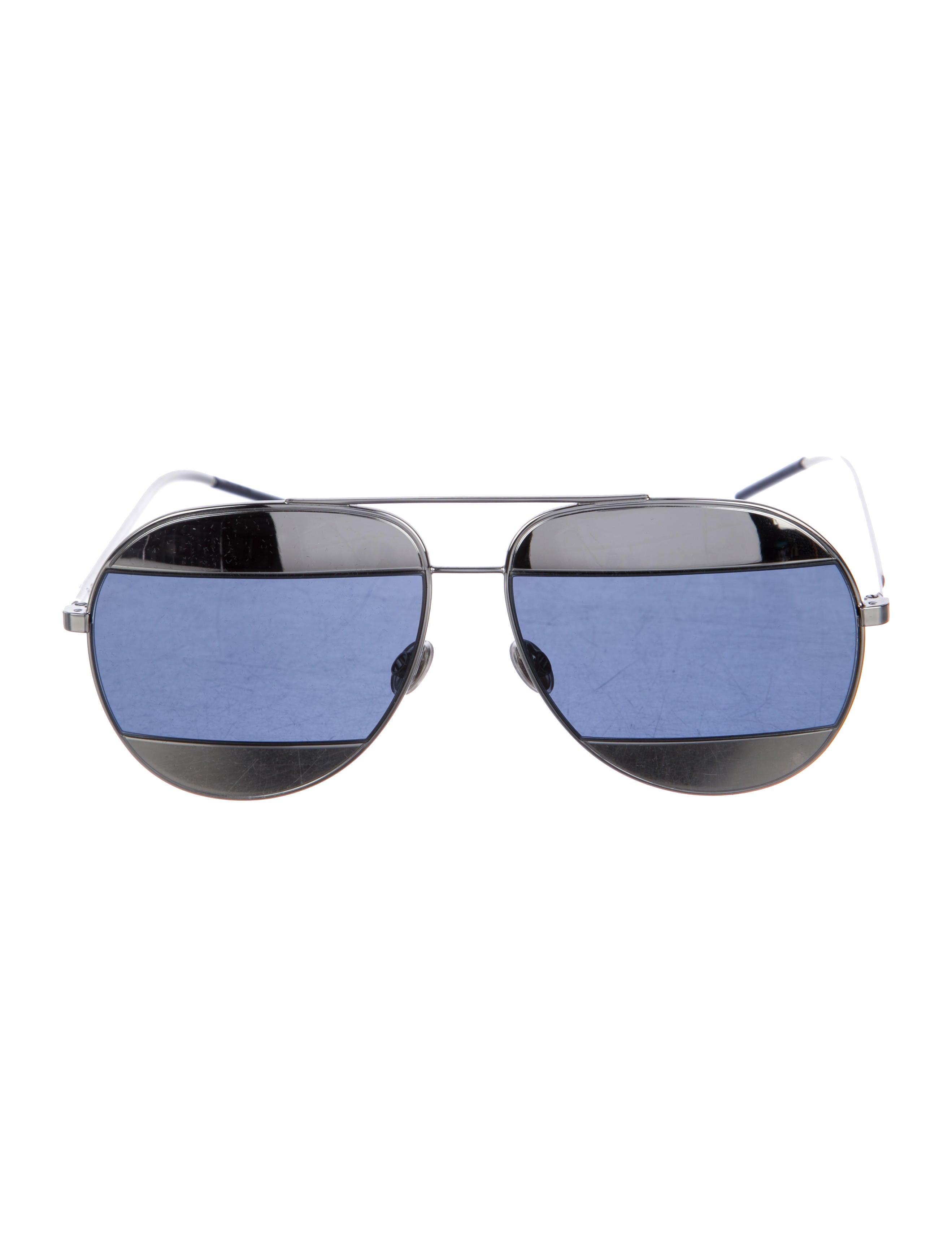 97e4b7358539 Christian Dior Split 1 Tinted Sunglasses w  Tags - Accessories ...