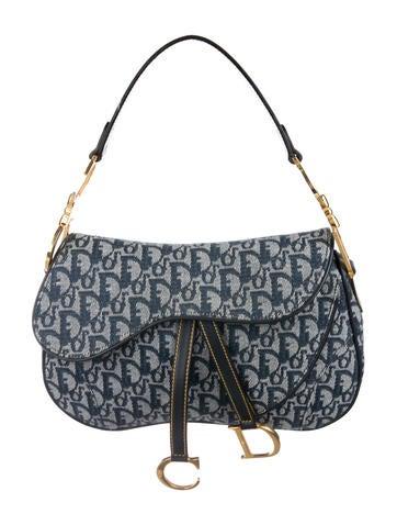 Christian Dior. Diorissimo Double Saddle Bag 4fea02b397572