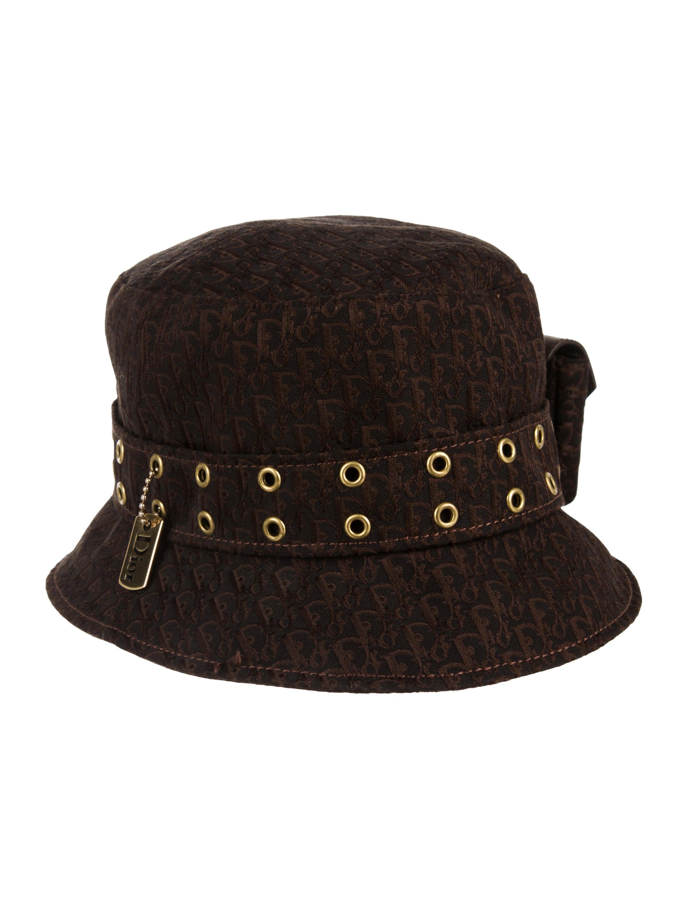 e25dce43ad9 Christian Dior Diorissimo Bucket Hat - Accessories - CHR88197