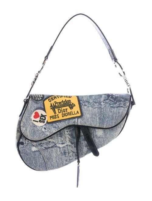 Christian Dior Miss Diorella Saddle Bag - Handbags - CHR92036  0d96d28a86812