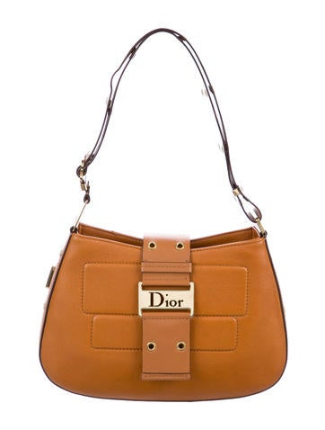 e2935df3541d Christian Dior. Street Chic Leather Hobo
