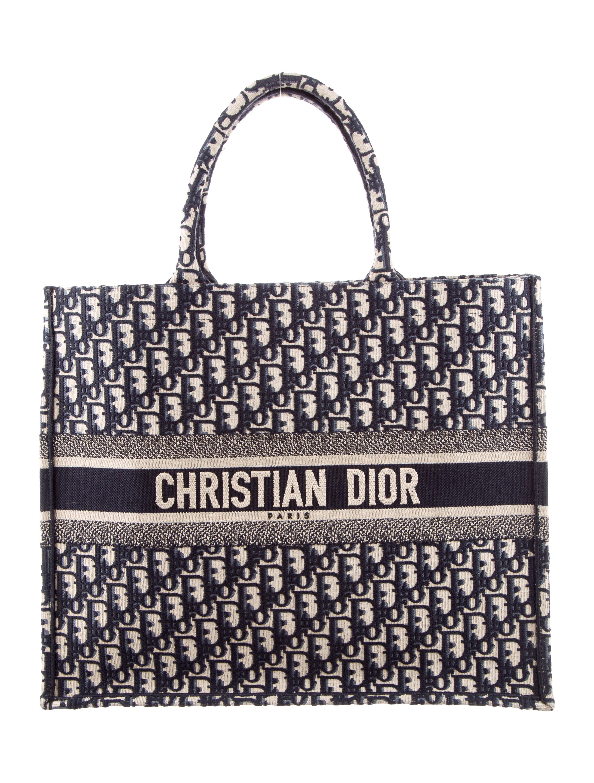 1b7a6f0a4144 Christian Dior 2018 Oblique Book Tote - Handbags - CHR92166