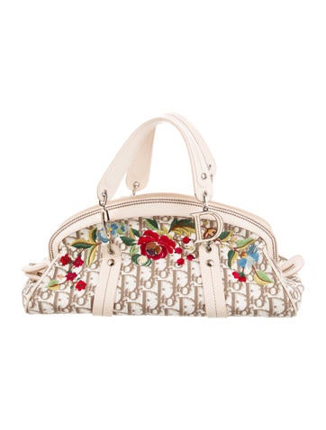 1e060d07249c Christian Dior. Diorissimo Embroidered Bag