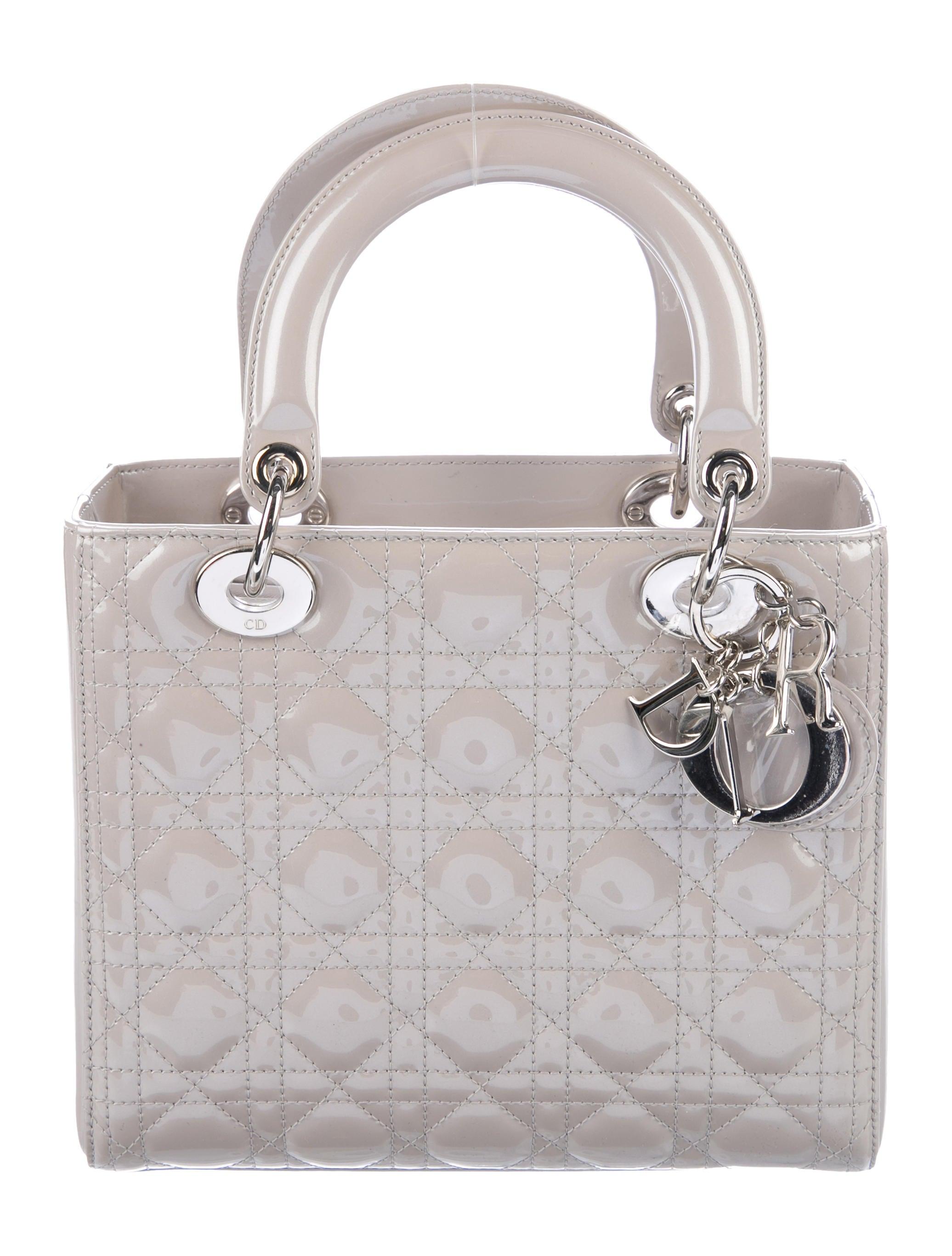 Christian Dior Medium Lady Dior Bag - Handbags - CHR92779  5cf8cdc63ce33