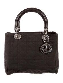 528b19eeb1 Christian Dior. Medium Cannage Lady Dior Bag