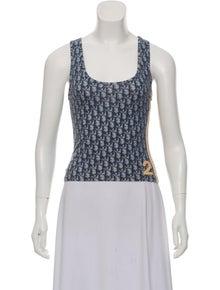 Christian Dior. Vintage Diorissimo Sleeveless Top 40d2fcbb62323