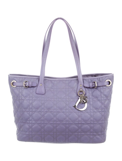 e029a7f42c49 Christian Dior Quilted Cannage Panarea Tote - Handbags - CHR95221 ...