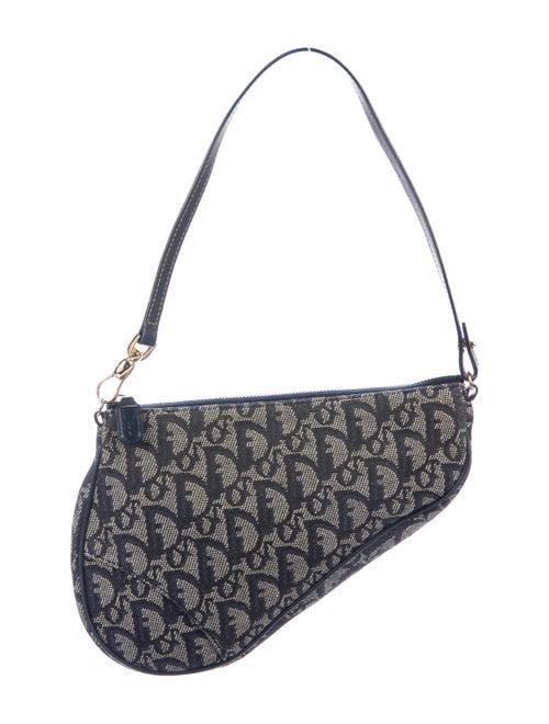 Christian Dior Dior Diorissimo Saddle Pochette - Handbags - CHR95366 ... b73f59338684a