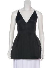 5ca5a0adeebe8 Christian Dior. Silk Sleeveless Tunic