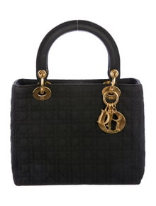 0fbb72e8fb99 Christian Dior. Medium Lady Dior Bag